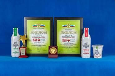 Брэнд «Молочная легенда» привез на Ставрополье престижные награды!